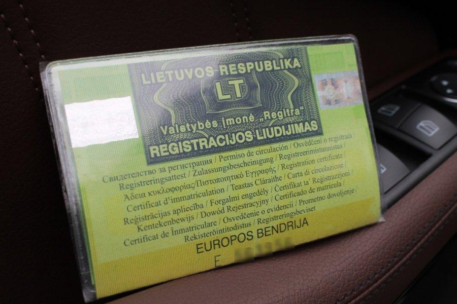 Ką daryti pametus automobilio dokumentus